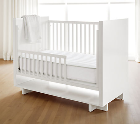 R&B Innerspring Crib Mattress with Natural Latex Foam - Firm