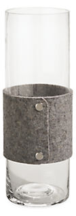 Judd Large Felt Wrapped Vase
