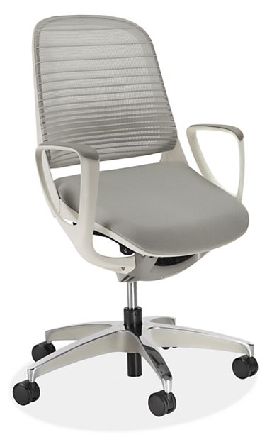 Luce Office Chair In White