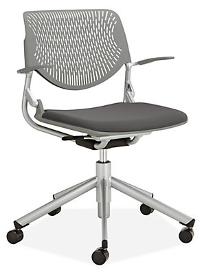 runa swivel office chair - modern office chairs & task chairs