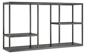 Foshay 36w 20h Four-Shelf Wall Unit