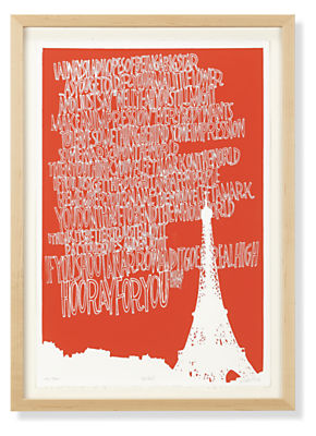 KleinReid, Paris, 2013, Limited Edition Silkscreen