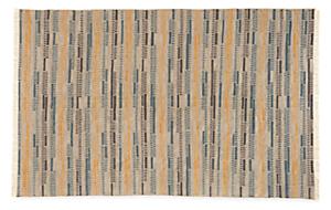 Morse 3'x5' Wool Rug in Grey/Gold