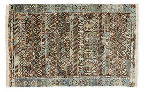 Timuri Hand Knotted Wool Rugs Modern Rugs Modern Dining Room