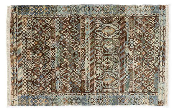 Timuri Hand Knotted Wool Rugs Modern