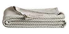 Norwich Stroller Blanket in Grey/Ivory
