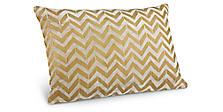 Herringbone Pillows in Gold