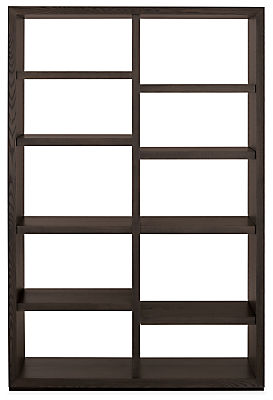 Lennox 48w 17d 72h Open-Back Bookcase