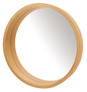 Loft 36 diam 4.5d Round Mirror