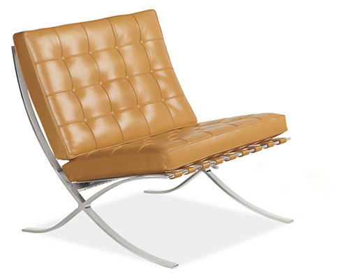 Seville Leather Chair - Accent Chairs - Modern Living Room ...
