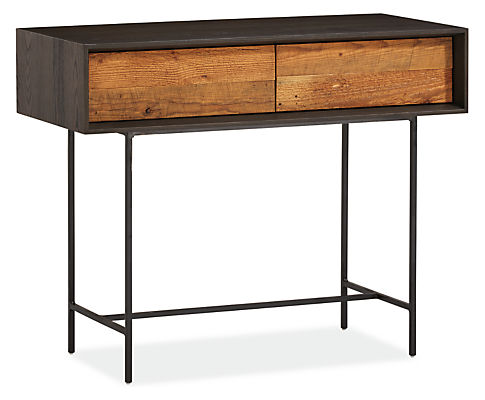 McKean 36w 16d 29h Reclaimed Wood Console Table