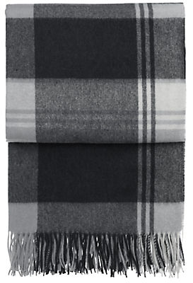 Horizon Large Plaid Throw
