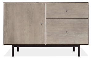 Hudson 44w 20d 28h File Cabinet with Steel Base