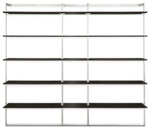 Beam 88w 12d 78h Bookcase Wall Unit