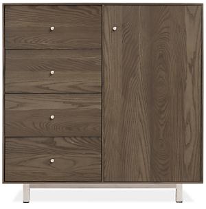 Hudson 30w 12d 30h Storage Cabinet with Steel Base