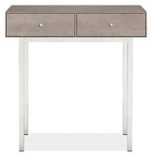 Hudson 30w 13d 29h Console Table with Steel Base