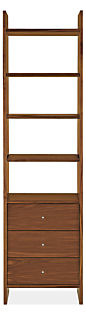 Addison 23w 15d 84h Three-Drawer Bookcase