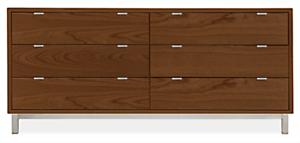 Copenhagen 70w 20d 30h Six-Drawer Dresser