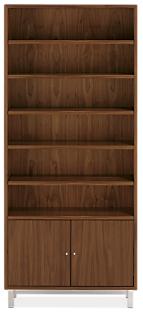 Copenhagen 36w 14d 82h Two-Door Bookcase