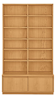 Keaton 45w 18d 80h Two-File-Drawer Bookcase
