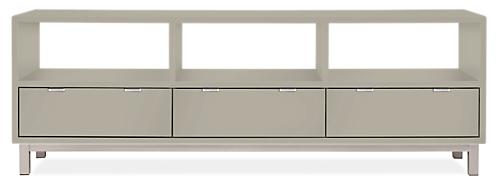 Copenhagen 73w 18d 25h Three-Drawer Media Cabinet