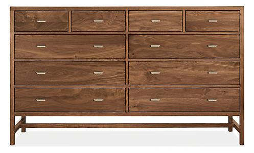 Berkeley 72w 20d 43h Ten-Drawer Dresser