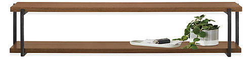 Stave 36w 10d 7h Double Wall Shelf