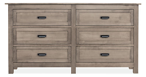Bennett Wood Dressers - Modern Dressers - Modern Bedroom Furniture ...