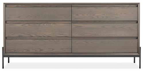 Kinley 72w 18d 34h Six-Drawer Dresser
