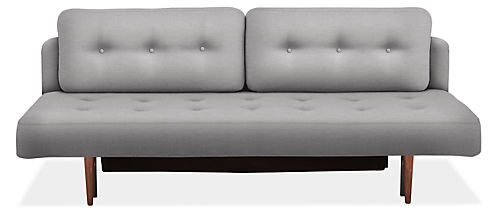 "Deco 79"" Armless Convertible Sleeper Sofa without Mattress Topper"