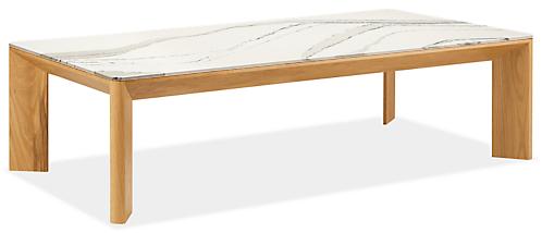 Pren 60w 30d 17h Coffee Table with Cambria Quartz Top
