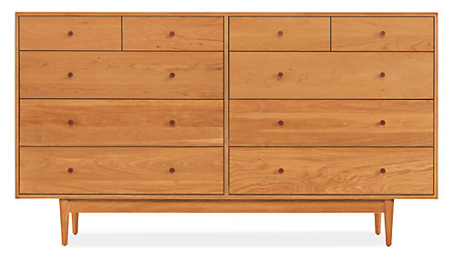Grove Wood Dressers - Modern Dressers - Modern Bedroom Furniture ...