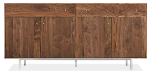 Hudson 72w 16d 34h Storage Cabinet With Steel Base