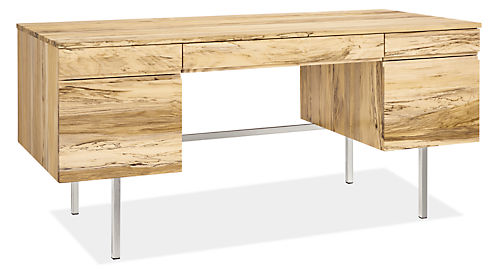 Shaw 66w 28d 30h Double File Drawer Desk