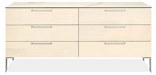 Kenwood 72w 20d 33h Six-Drawer Dresser with Ceramic Top
