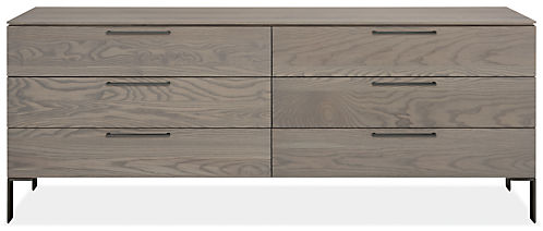 Kenwood 84w 20d 33h Six-Drawer Dresser
