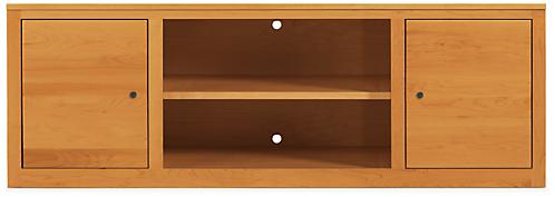 Woodwind 70w 17d 24h Two-Door Media Cabinet
