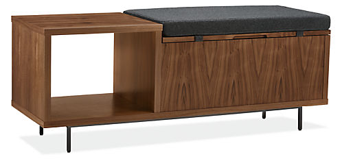 Fleming 48w 16d 19h Storage Bench