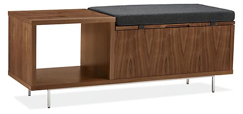 Fleming 48w 16d 19h Storage Bench