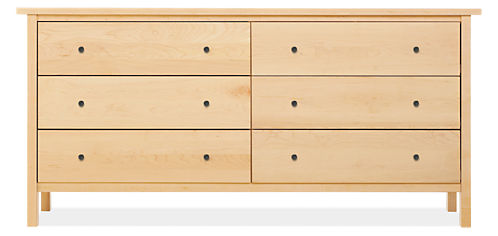 Sherwood 72w 19d 35h Six-Drawer Dresser