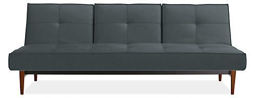 Eden 82 Armless Convertible Sleeper Sofa
