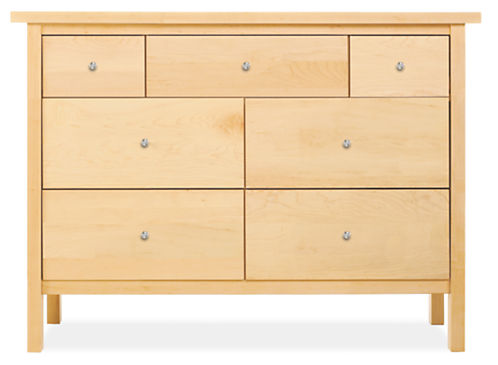 Sherwood 49w 19d 35h Seven-Drawer Dresser