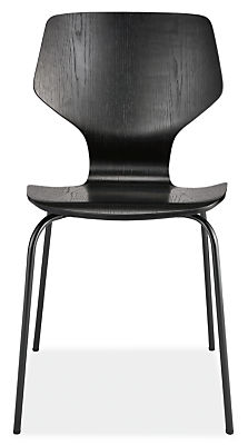 Pike Side Chair with Metal Base