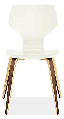 Pike Modern Wood Base Chair Modern Dining Chairs Modern Dining - Room and board dining chairs