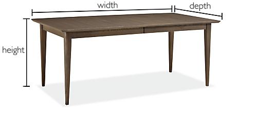 Modern Custom Dining Tables - Modern Custom Furniture - Room & Board
