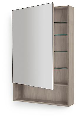 Durant 20w 5.25d 30h Medicine Cabinet with Shelf & Left-swing Door