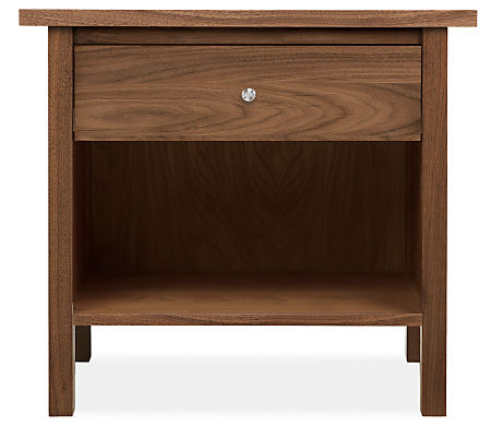 Sherwood 28w 19d 28h One-Drawer Nightstand