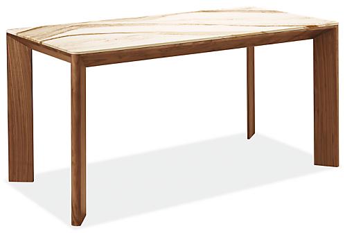 Pren 60w 30d 30h Table with Cambria Quartz Top
