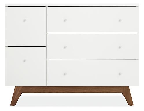 Flynn 40w 19d 31h Five-Drawer Dresser