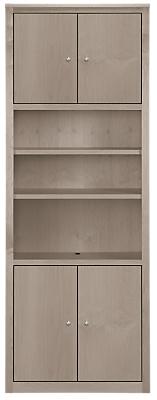 Woodwind 32w 12d 86h Four-Door Bookcase
